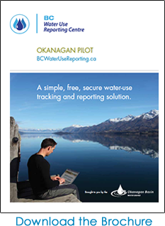 BC Water Use Reporting Centre Brochure