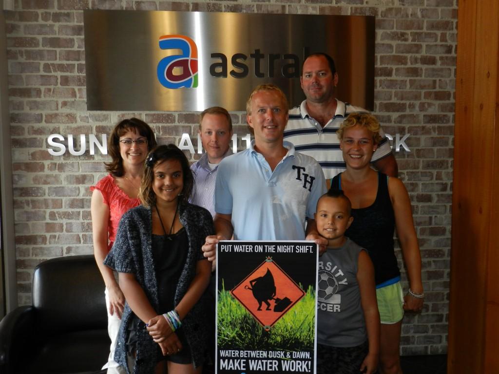 Make Water Work contest winner 2012 - Lance Swetlishoff!
