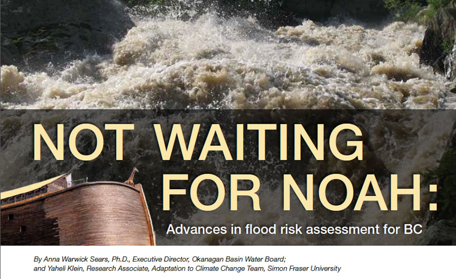 Not waiting for Noah: advances in flood risk assessment for BC