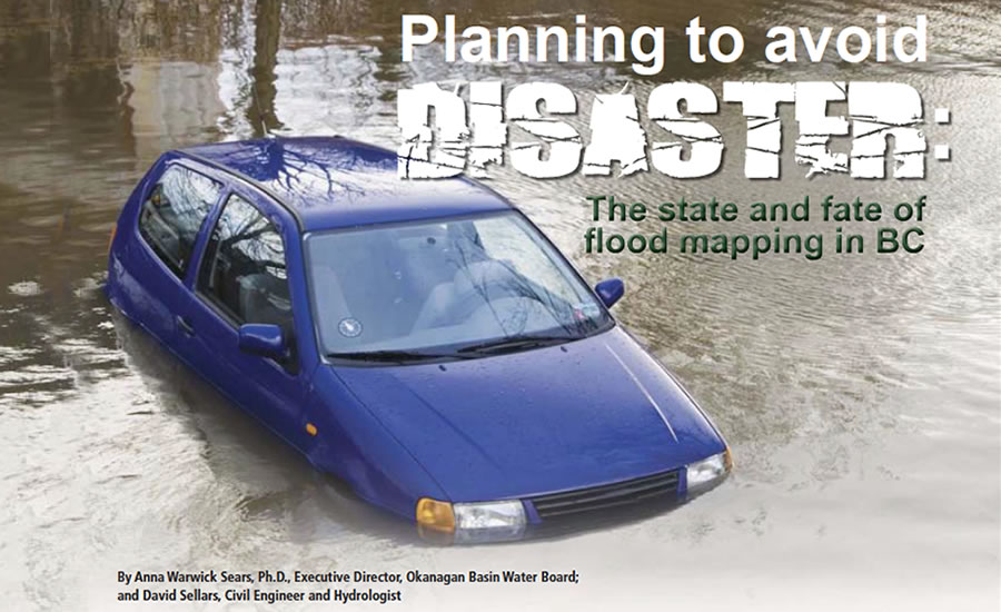 Planning to avoid disaster: the state and fate of flood mapping in BC