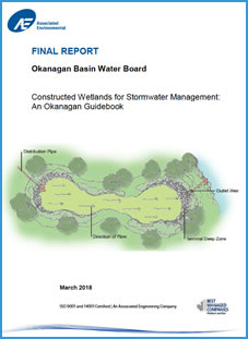 Constructed Wetlands for Stormwater Management: An Okanagan Guidebook