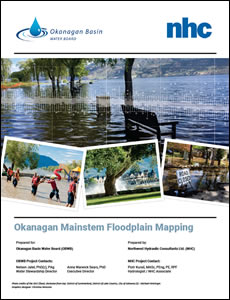 Okanagan Mainstem Floodplain Mapping report