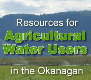 Resources for Agricultural Water Users
