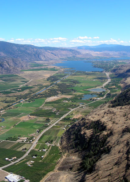 Okanagan River (Canal) to Osoyoos Lake - photo by Scott Martin