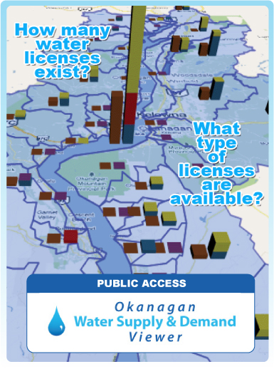 Go to the Okanagan Water Supply & Demand Viewer